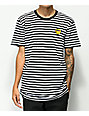 Roy Purdy Striped Black & White T-Shirt