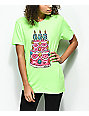 Salem7 666 Cake Green T-Shirt