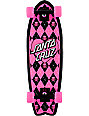 "Santa Cruz Argyle Shark 8.8""  Cruiser Skateboard"