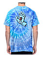 Santa Cruz Screaming Hand camiseta azul