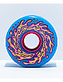 Santa Cruz Slime Balls OG 60mm 78a Blue & Pink Cruiser Wheels
