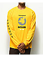 Scum Checker Rat Gold Long Sleeve T-Shirt