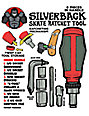 Silverback Ratchet Red Skate Tool