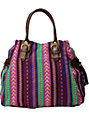 Southwest Purple Print Tote Bag
