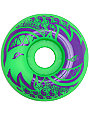 Spitfire Eternal Green & Purple 52mm Skateboard Wheels