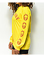 Spitfire Old E Yellow Long Sleeve T-Shirt