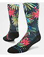 Stance Daintree Tropical & Black Training Crew Socks