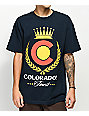 State Of Mind CO Colorado's Finest Navy T-Shirt