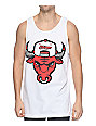 State Of Mind IL Cement Bully White Tank Top