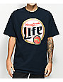 State Of Mind MA For Life Navy T-Shirt