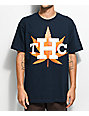 State Of Mind Texas Houston THC Navy T-Shirt