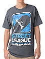 Street League Scribble Charcoal T-Shirt