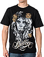 Sullen Gold Rose Black T-Shirt