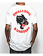 Swallows & Daggers Panther White T-Shirt