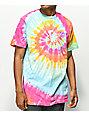 Swallows & Daggers Skull Web Multi Tie Dye T-Shirt