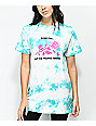Swallows & Daggers Roses Fall Mint Tie Dye T-Shirt