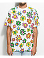Teenage Flower All Over White T-Shirt