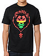 Teruo Imperial Lion Rasta Black T-Shirt