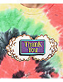 Thank You Buds camiseta tie dye multicolor