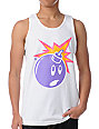The Hundreds Fluorescent White Tank Top