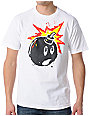The Hundreds Splatter Adam White T-Shirt