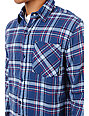 The Hundreds Talking Long Sleeve Flannel Shirt