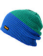 ThirtyTwo 2 Tone Royal & Green Beanie