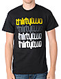 Thirtytwo Stacker Black & Gold T-Shirt