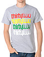 Thirtytwo Stacker Grey & Rasta T-Shirt