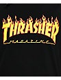 Thrasher Flame Logo Black T-Shirt