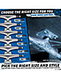 Thunder Electra Strike 147 Blue & Gray Hollow Lights Skateboard Truck
