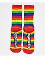 Toy Machine Sect Eye Rainbow Crew Socks