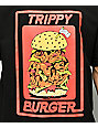 Trippy Burger Babes Black T-Shirt