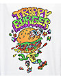 Trippy Burger Skate Burger White T-Shirt