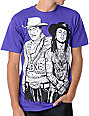 Upper Playground The Shootists Purple T-Shirt