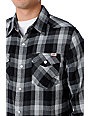 Vans AV Canyonero Charcoal Flannel Shirt