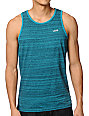 Vans Balboa Turquoise Striped Tank Top