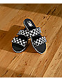 Vans Cayucas Checkerboard 2 Strap Slide Sandals