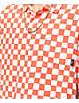 Vans Checker Camp Emberglow camisa de manga corta