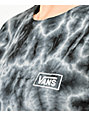 Vans Checkerboard Black Tie Dye T-Shirt