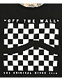 Vans Checkerboard Sidestripe Black Tank Top