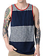 Vans JT Foil Navy Blue Stripe Tank Top