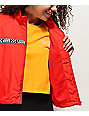 Vans MTE Red Crop Windbreaker Jacket