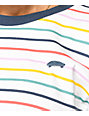 Vans Pool Party Stripe Boxy T-Shirt