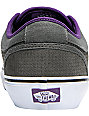 Vans Skate Shoes Chukka Low Purple & Charcoal Houndstooth Skate Shoes