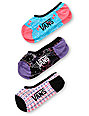 Vans x Hello Kitty Canoodle 3-Pack No Show Socks