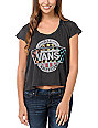 Vans x Junk Food All American Black T-Shirt