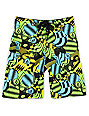 Volcom Boys Maguro Circles Green Board Shorts