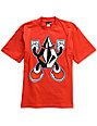 Volcom Boys Stone Man Red T-Shirt