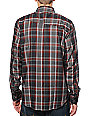 Volcom Faderton Red Plaid Flannel